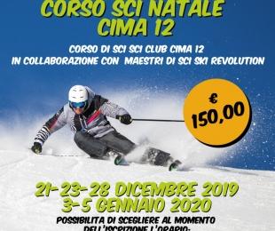 Corso di Sci vacanze di Natale by Sci Club Cima12!